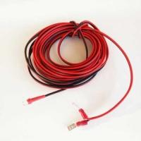 Kabelsatz LED rot/ Taster